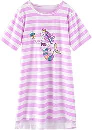 Fille 3-14ans Chemise de Nuit à Manches Longue Pri