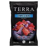Terra Chips di Tuberi Misti, Stripes & Blues - 6 Confezioni da 110 gr