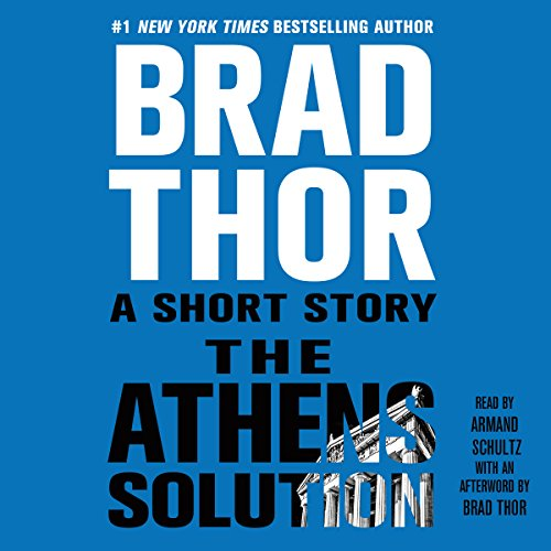 The Athens Solution audiobook cover art