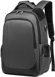 Apostasi Oxford Men Travel Backpack, Large Capacity Waterproof Racksack Bag with USB Port for Travel Business Slim Water R...
