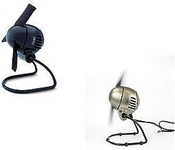 Vornado 12196 Zippi Design Tischventilator mit Soft-Nylon-Rotorsystem schwarz