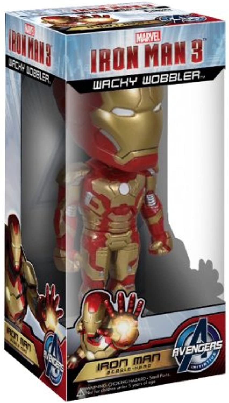 Wacky Wobbler Iron Man 3 Iron Man Mark 42 Hhe von etwa 180 mm Kunststoff gestrichene Zahlen