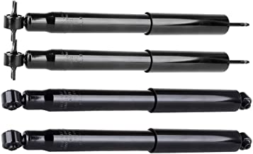 SCITOO Shocks, Front Rear Gas Struts Shock Absorbers Fit for 1999 2000 2001 2002 2003 2004 Jeep Grand Cherokee 344342 344341 37162 37161 Set of 4
