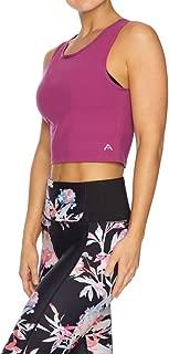 Rockwear Activewear Women's Bloom Keyhole Crop Tank from Size 4-18 for Singlets Tops