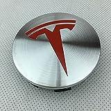 58 mm 4 piezas para Tesla Model 3 S X Y 2015-2022 Cubierta de...