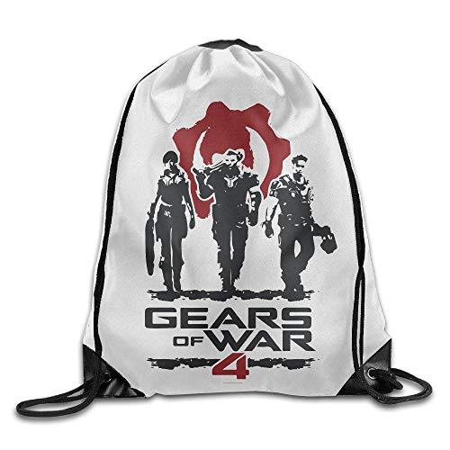 Sporting Kansas City Sport Backpack Drawstring Print Bag Gears of War 4 Video Game