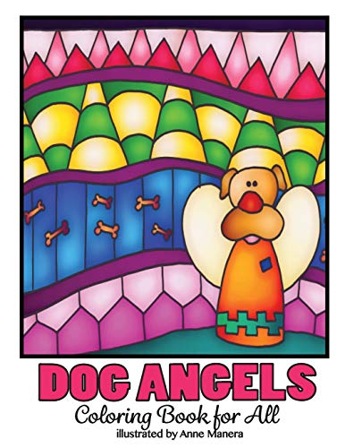 Dog Angels Coloring Book for All