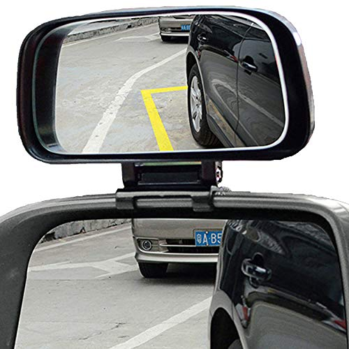 Cars Blind Spot Mirror, KEWAYO Car Side Mirror Auto Blind Spot Mirrors Wide Angle Mirror Convex Rear View Mirror for Cars Truck SUV, 1 Piece