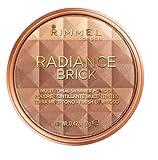 Rimmel London Shimmer Brick Bronzer Powder, Polvos bronceadores, Tono 2 - 130 g