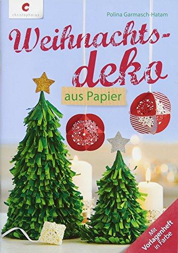 Weihnachtsdeko aus Papier