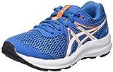 Asics Contend 7 GS, Road Running Shoe, Reborn Blue/White, 38 EU
