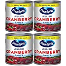 Ocean Spray Jellied Cranberry Sauce (Pack of 4) 8 oz Mini Cans