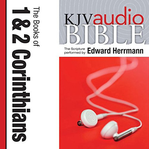 Pure Voice Audio Bible - King James Version, KJV: (33) 1 and 2 Corinthians audiobook cover art