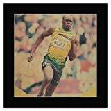 Stick It On Your Wall Mini-Poster, Usain Bolt, Racing for