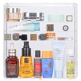 Lusso acrilico trasparente di trucco cosmetici scatola organizer Holder gioielli valigetta...