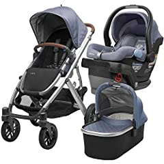 The Ultimate travel system bundle. Includes Vista Stroller and Mesa Infant Car Seat. Adapts to Your Family- Configures smartly to adapt to growing families. Multiposition Recline- Reclines flat with one hand for naps on the go. One-Step Fold- Folds i...