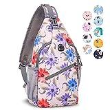 Best Sling Backpacks - ZOMAKE Sling Bag for Women Men, Small Sling Review