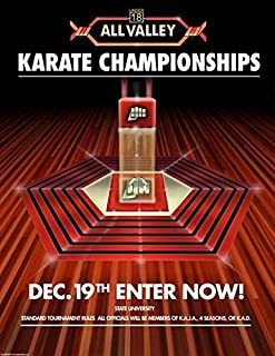 Imagekind Wall Art Print entitled All Valley Karate Tournament by Dave Delisle   16 x 21