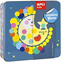 APLI Kids- Juego de gomets, Color surtido (15221)