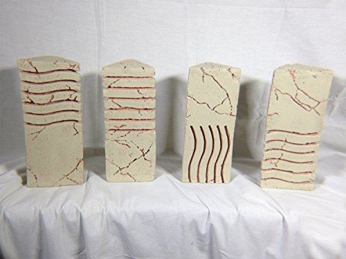 The Fifth Element, 4 Element Stone Replica Set, Solid Resin, Limited Edition
