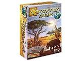 Carcassonne Safari Board Game   Family Board Game   Board Game for Adults and Family   Strategy Board Game   Adventure Board Game   Ages 8 and up   2-5 Players   Made by Z-Man Games