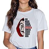 Camiseta Casa de Papel, Camiseta Casa de Papel Mujer Nia T-Shirt Camisetas de Manga Corta Casa de Papel Denver Abecedario Impresin T-Shirt Regalo Camisa Verano Camisetas y Tops (27,M)