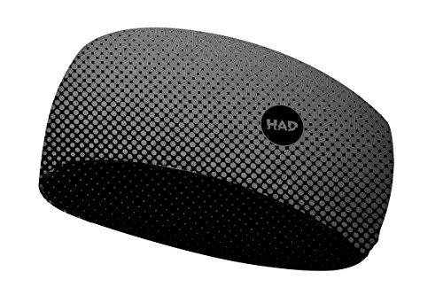 H.A.D. Coolmax Hadband Grau, Kopfbedeckung, Größe One Size - Farbe Fader Black