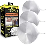 Alien Draft Seal Set of 49 Feet Anti-Draft Adhesive and Flexible Flap to Seal Gaps Around Doors and Windows As Seen On TV