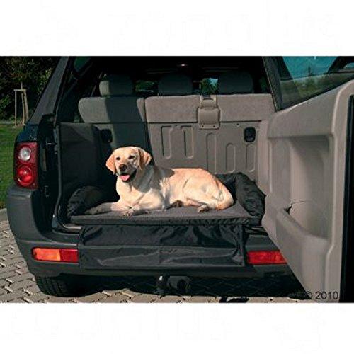 Auto Bett mit Bumper Cover rutschfeste Unterseite Weich Gepolstertes bequeme Hund Reisen