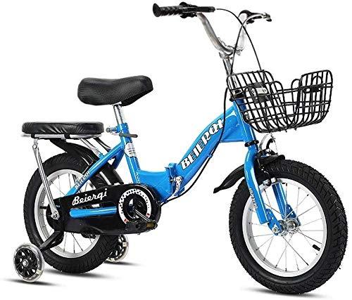 Jue Bicicletas Plegables 2-3-4-6-7 Años de Edad Niño Niña de la Bicicleta Infantil