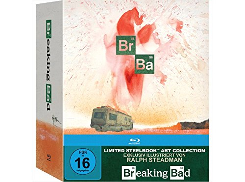 Breaking Bad - Die komplette Serie (Steelbook) (Limited Art Collection) [Blu-ray]