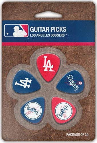 The Sports Vault MLB Los Angeles Dodgers GPMLB14Guitar Picks, Multi, One Size