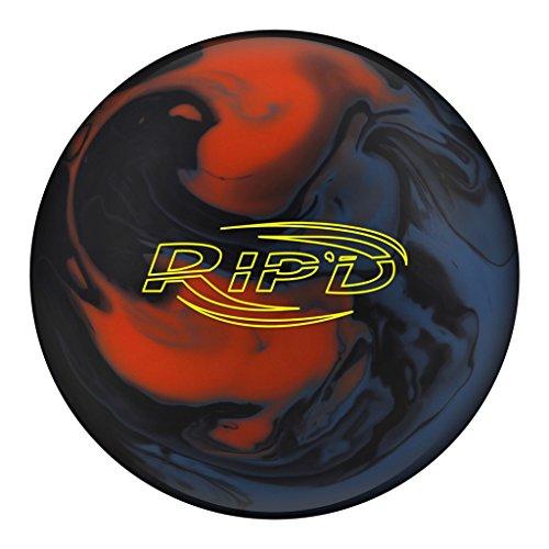 Hammer Rip'd Solid Bowling Ball- Blue/Black/Orange