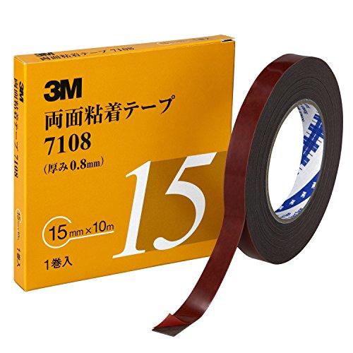 3M 両面粘着テープ 7108 15mm幅x10m 7108 15 AAD