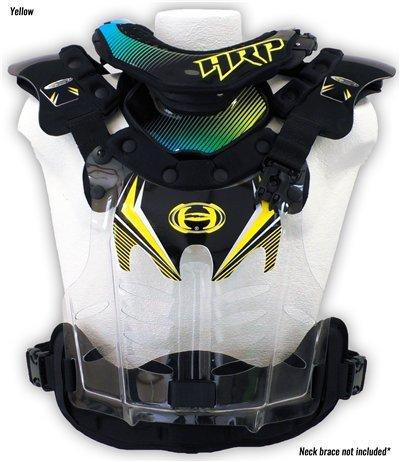 HRP Flak Jak 1000 LT Large (145-190 lbs) Yellow Neck Brace Compatible