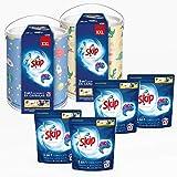 Skip Detergente Capsulas Maxima Eficacia 172 Lavadores (4 Bolsas + 2 Tambores)