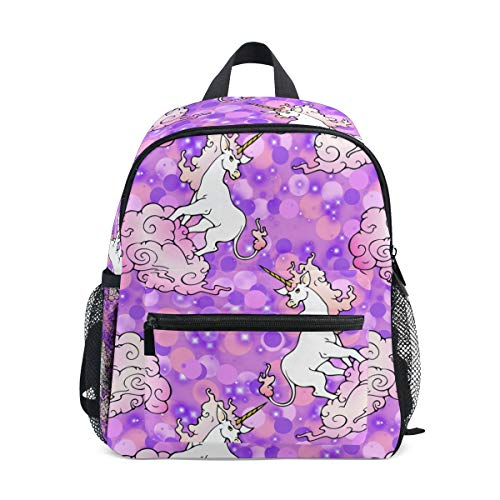 6 Toddler Backpack Bookbag Mini Shoulder Bag for 1-6 Years Travel Boys Girls Kids with Chest Strap Clip Whistle