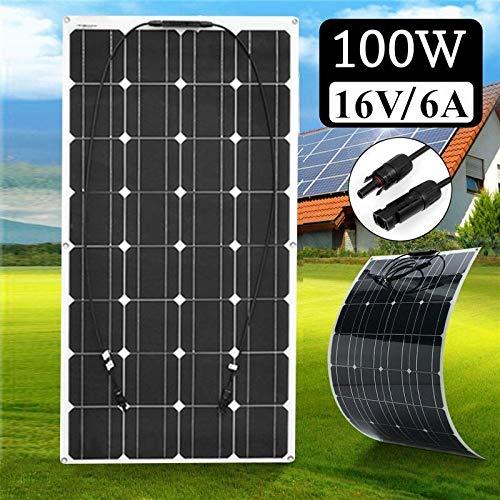 YYANG Solarpanel 12 / 24V Batterie Stromerzeugung Zu Hause Im Freien Monokristallines Silizium Flexible 100W16V