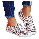 Zapatillas de lona para mujer, cómodas, planas, con cordones, para el tiempo libre, zapatillas de tela, planas, zapatillas de deporte