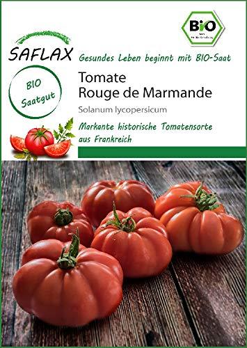 Saflax 18206 Tomate Rouge de Marmande (Bio-Tomatensamen)