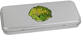 Azeeda 'Brussel Sprout' Metal Hinged Stationery Tin / Storage Box (TT00111088)
