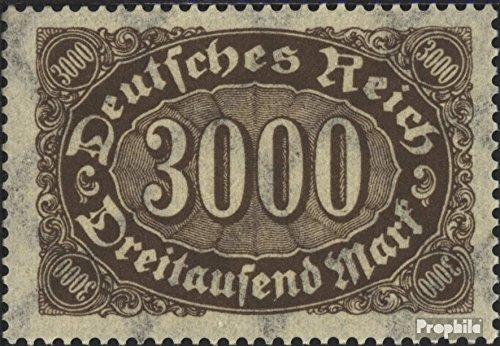 Prophila Collection Tedesco Empire 254d testati 1922 I numeri Complementare-Valori (Francobolli per i collezionisti)