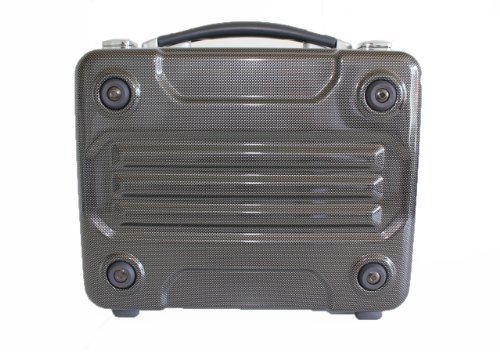 [ジ―ブロンコ]G-BRONCOアタッシュケース36cm A4サイズ ポリカーボネート (カーボンプリント)