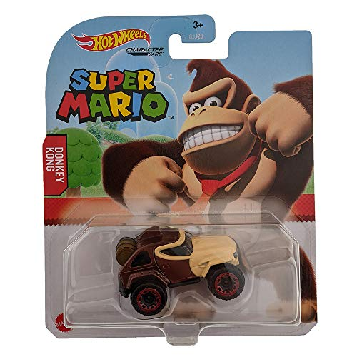 Hot Wheels Coche de Super Mario - Donkey Kong