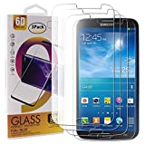 Guran 3 Paquete Cristal Templado Protector de Pantalla para Samsung Galaxy Mega 6.3 i9200 Smartphone 9H Dureza Anti-Ara?azos Alta Definicion Transparente Película