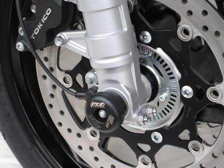 Satz GSG Moto Sturzpads Vorderrad Suzuki GSF 1250 Bandit WVCH 07-