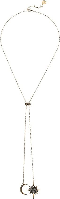 Celestial Skies Slider Lariat Necklace
