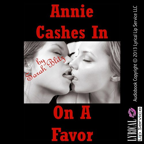 Annie Cashes in on a Favor audiobook cover art