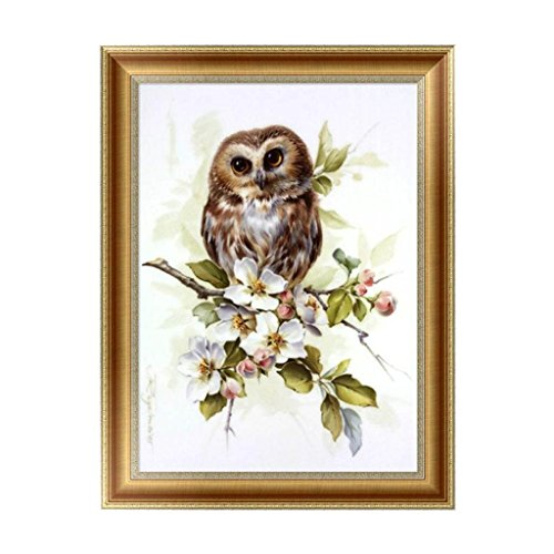 Arich Cute Owl 5D Diamond Painting Embroidery Cross Stitch DIY Art Craft Home Wall Decor