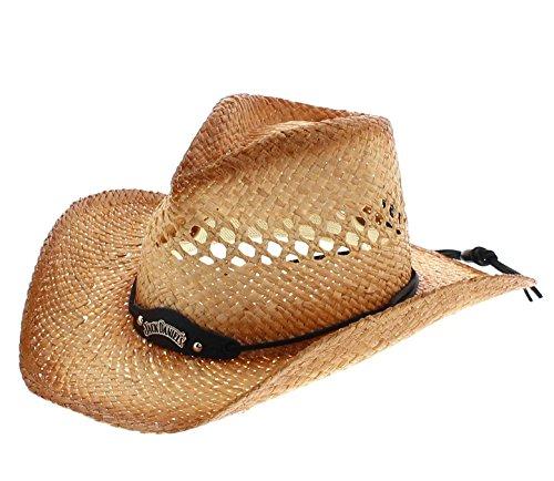 FB Fashion Boots Jack Daniels Heren Hoed JD03-59 Summer Haze Cowboyhoed Natural